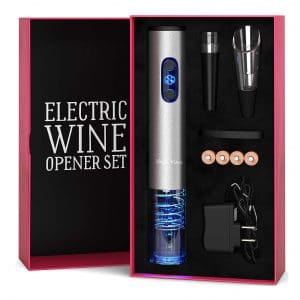 5. Electric Wine Opener with Charger