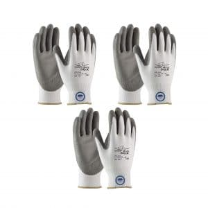 Great White 3-Pair Pack Cut Resistance Gloves