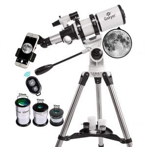 6. Gskyer 80mm AZ Space Reflector Telescope