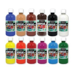 Sargent Art (SARAD) Acrylic Paint assortment