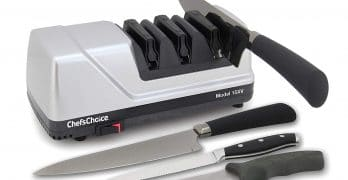 1. Chef'sChoice Electric Knife Sharpener