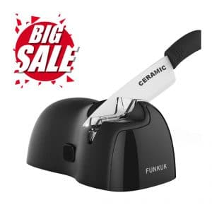 10. FUNKUK Electric knife sharpener