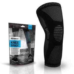 10. POWERLIX Compression Knee Sleeve