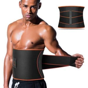Sauna Waist Trimmer Belts by VOHUKO