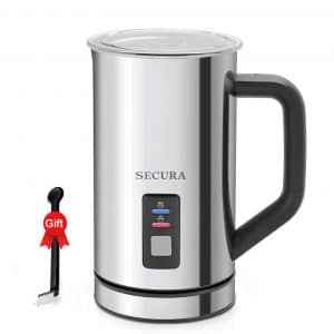 4. Secura Milk Frother and Warmer