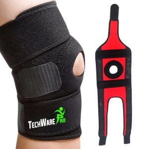 4. Techware Pro Knee Brace Support