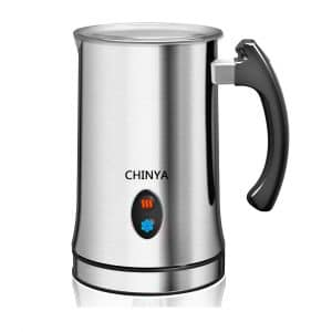 6. CHINYA Milk Frother and Steamer Machine