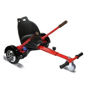 6. Qoovi Hoverboard Kart