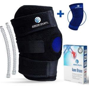 9. Arrow Splints Knee Brace