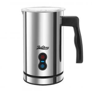 9. Betitay Electric Milk Frother Steamer
