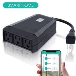 Bodaon Outdoor Smart Plug with Wireless Remote