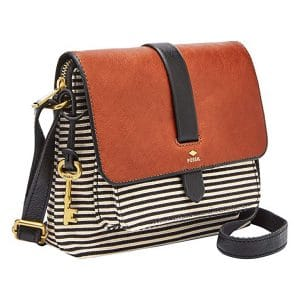 1. Fossil Women's Kinley Small Crossbody Purse