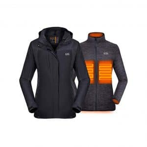 Venustas Women's 3-in-1 Heated Jacket