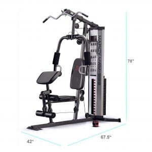 4. Marcy Multi-function Home Gym 150lb Stack