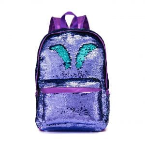 4. SIWA MARY Reversible School Backpack for Girls