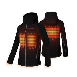 CONQUECO Women's Heated Jacket