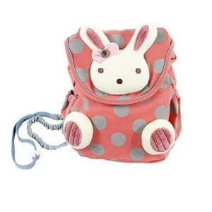 8. Hessie Red Toddler Backpack for Toddlers