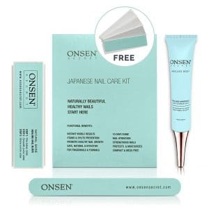 8. Onsen Unique Japanese Nail Strengthener