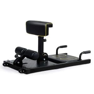 10. GYMAX 8-in-1 Sissy Squat Machine