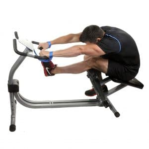 2. Nitrofit Limber Pro leg Stretch Machine with Adjustable Seat and Calf Stretching Station