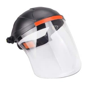 Ginode Anti-Fog Adjustable Full Face Shields 2 Pack