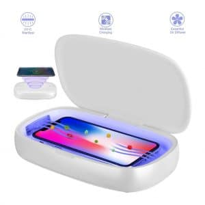 Rdfmy SmartPhone UV 10W Sanitizer with Wireless Charging Station