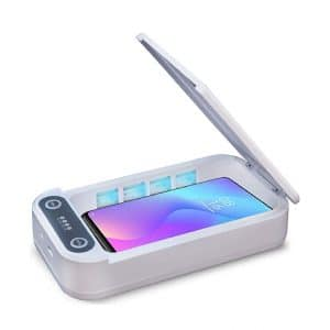 SMARTURTLE Portable UV Smart Sanitizer with Wireless Charging