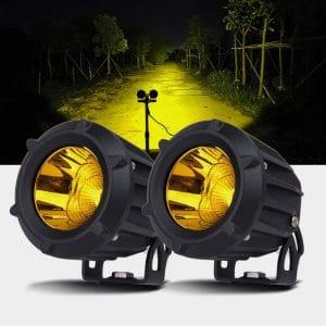 Chelhead Motorcycle LED Fog Lights, 2PCS
