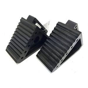 MaxxHaul 70472 Solid Rubber Heavy Duty Wheel Chock