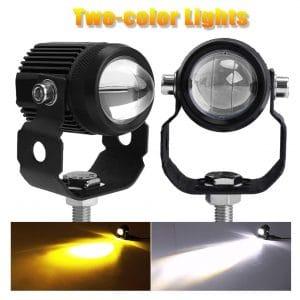 CO LIGHT Motorcycle LED Auxiliary Fog Lights