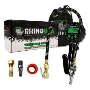 Rhino USA ANSI B40.1 Accurate Digital Tire Inflator