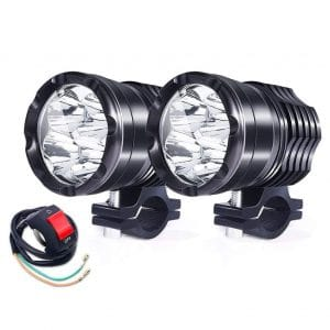 Ourbest Universal Motorcycle Fog Lamp