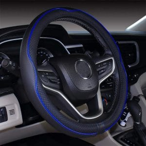 Mayco Bell 14.5''-15'' Microfiber Leather Medium Auto Steering Wheel Cover