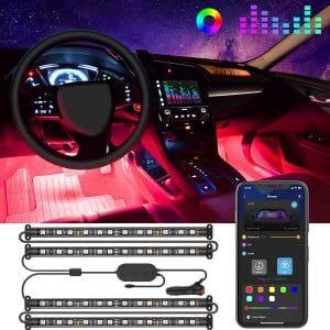 Govee 4pcs 48 LED Interior Car Lights