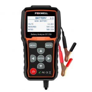 The FOXWELL BT705 Battery Tester