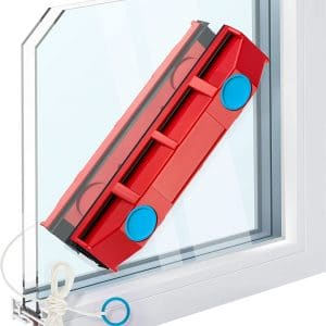 The Glider D-2 Magnetic Window Cleaner