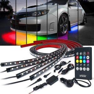 Xprite Car Underglow Neon Accent Strip Lights