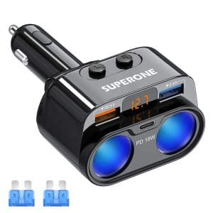 SUPERONE Cigarette Lighter Adapter