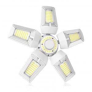 YELLORE 150W LED Garage Deformable Lights 21,000 Lumens