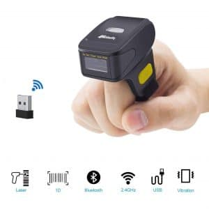 Alacrity Wireless Laser Compatible Bluetooth Mini Barcode Scanners