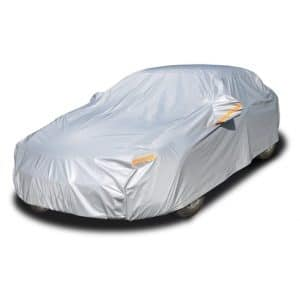Kayme 6 Layers Car Cover Waterproof 186 to 193 Inches