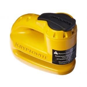 Kryptonite Keeper Yellow Disc Lock