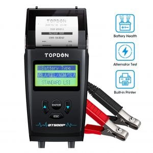 The TOPDON BT500P Tester