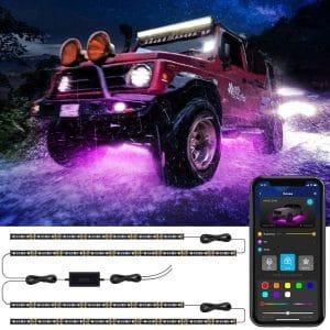 Govee Car Underglow LED Lights 2 In 1 Design