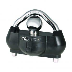 Trimax UMAX100 Universal Steel Solid Hardened Unattended Trailer Lock