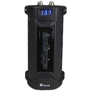 Audiopipe ACAP-6000 6-Farad Digital Power Capacitor