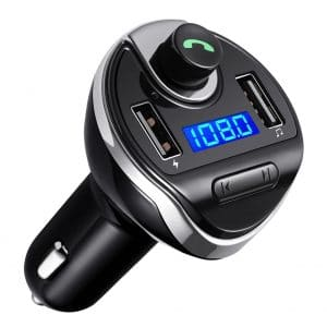 Criacr USB Charging Car Bluetooth FM Transmitter