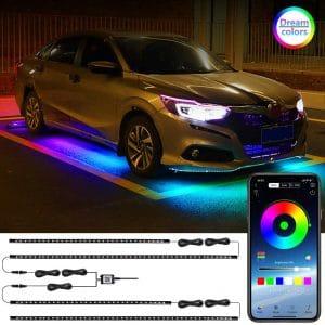LEDCARE Car Underglow LED Lights Wireless App Control