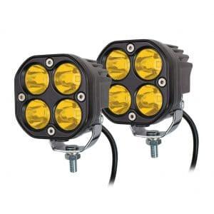 3E Offroad Waterproof 40W LED Fog Lights
