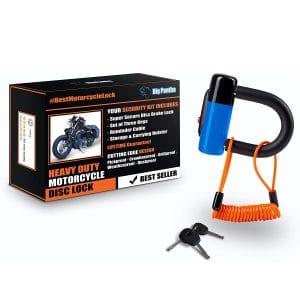 BigPantha Heavy Duty Anti-Theft Motorcycle Disc Lock